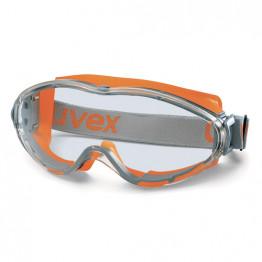 Uvex - Ultrasonic Şeffaf Lens İş Gözlüğü - Turuncu - 9302 245