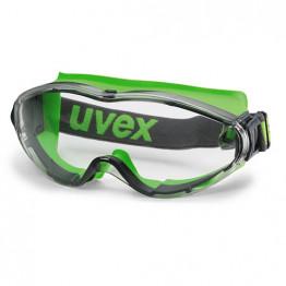 Uvex - Ultrasonic Şeffaf Lens İş Gözlüğü - Yeşil - 9302 275