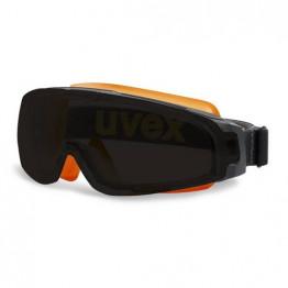 Uvex - U-Sonic Siyah Lens İş Gözlüğü - Turuncu - 9308 248